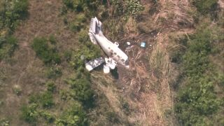Small plane crash in West Palm Beach
