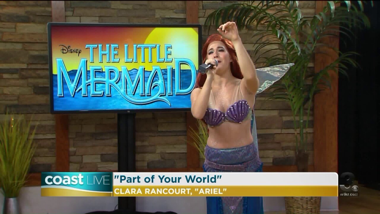 """A sneak peek at the Hurrah Player's production of """"The Little Mermaid"""" on CoastLive"""