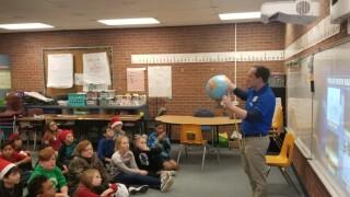 Storm Safe visit at Aragon Elementary School