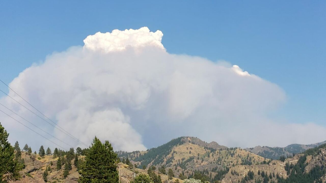 Harris Mountain Fire
