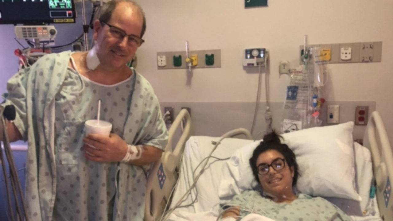 Meghan Smith found a match for her liver transplant - her uncle. Not everyone is as fortunate, though, and the new online platform 'TransplantLyfe' seeks to help transplant patients find resources and connect with one another.