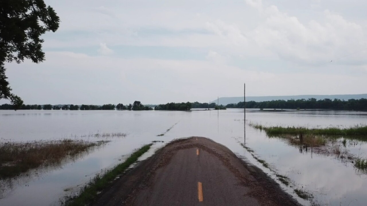 Some farmers in Arkansas whose lands have been hit by major flooding are refusing to give up