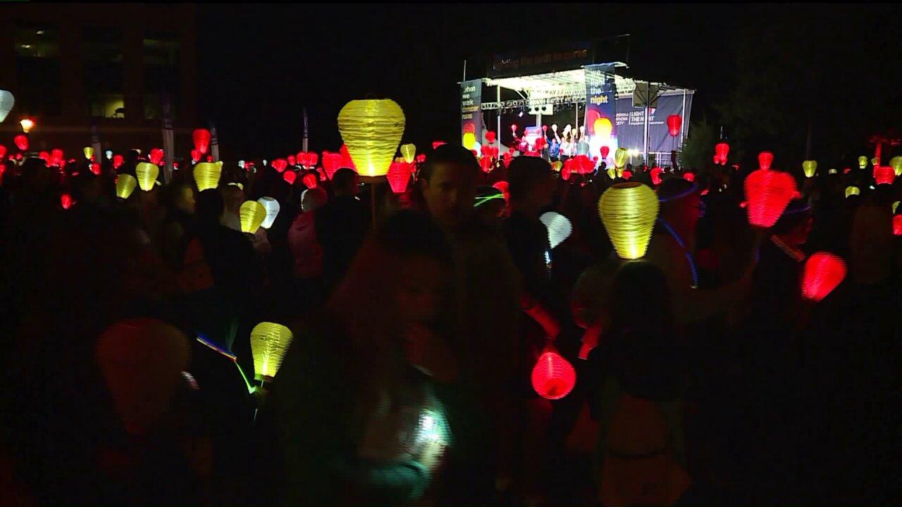 Light the Night Walk breaks fundraisingrecord