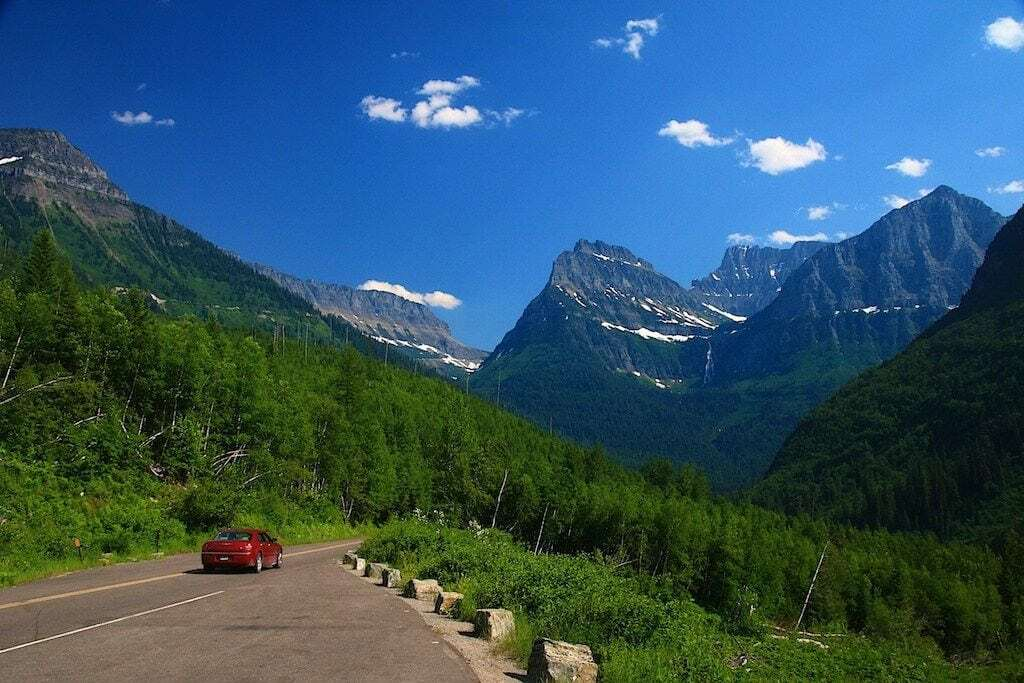 Glacier Park's Going to the Sun Road