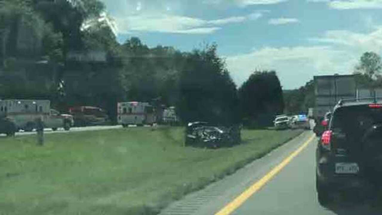 2 Killed in Crash On I-40E At Dickson-Hickman Co. Line
