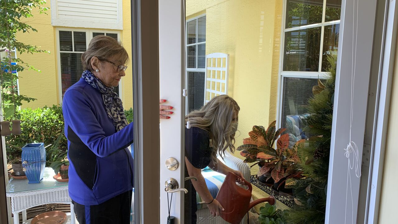 Home care can help with routine tasks