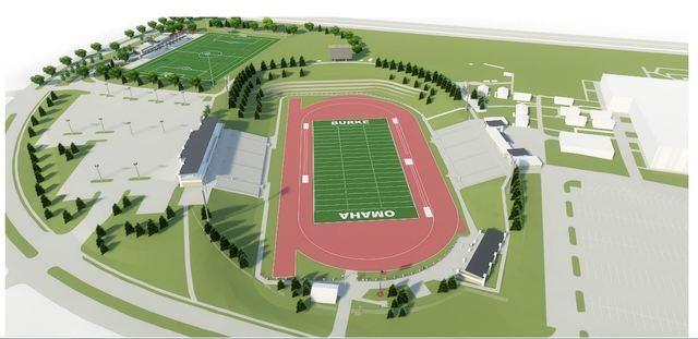 PHOTO GALLERY: Burke High School stadium renovations