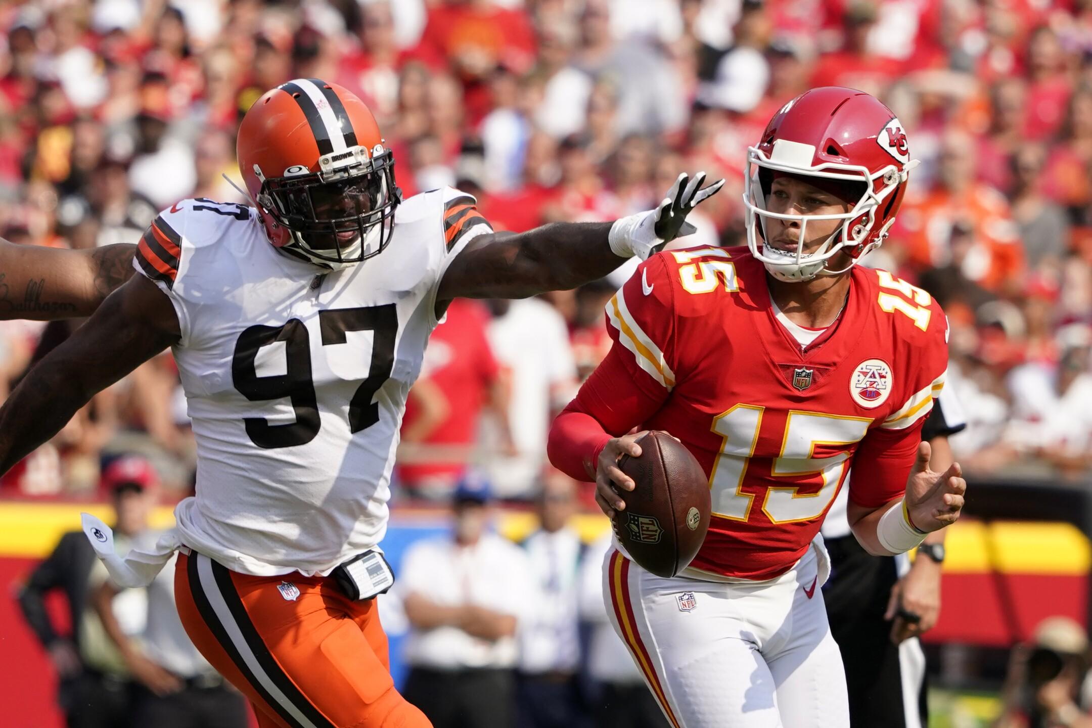 Browns Chiefs Football