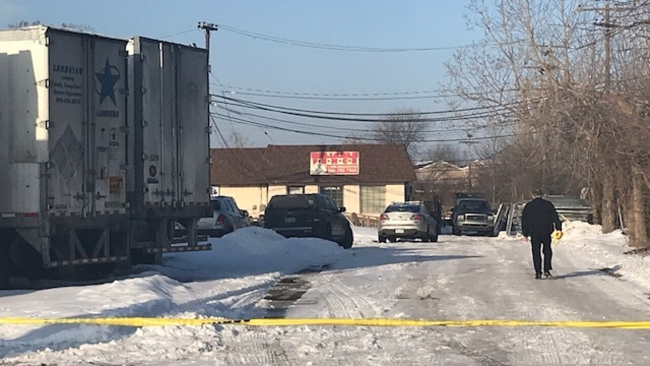 Person shot, killed at Clinton Township business