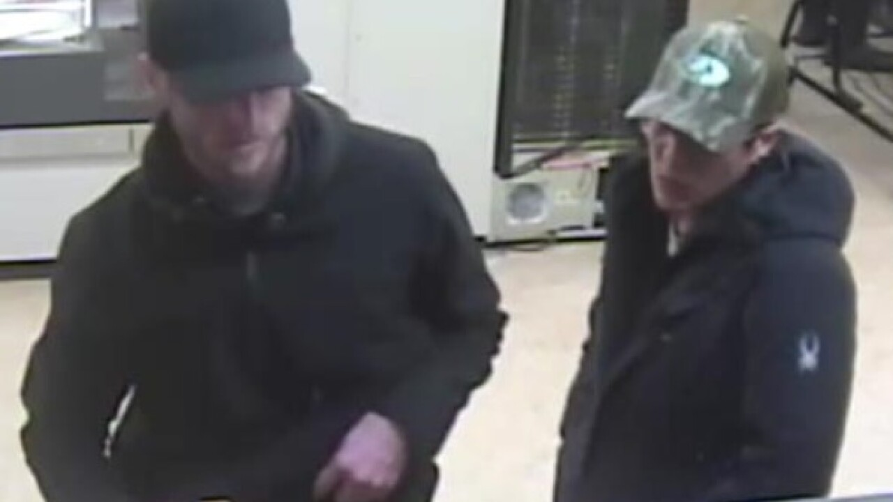 Bank robbery suspects may have fled to Denver