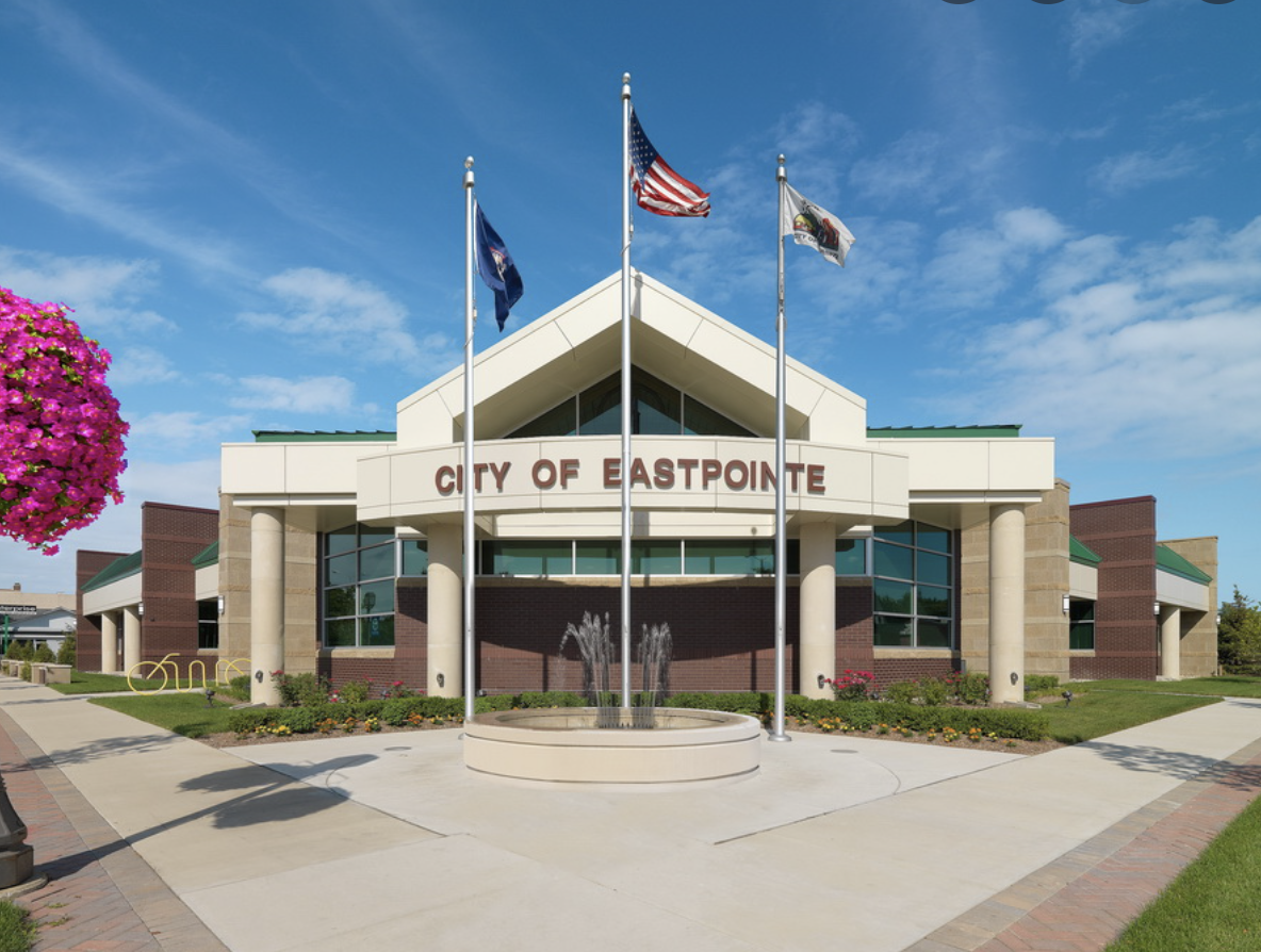 City Council building in Eastpointe