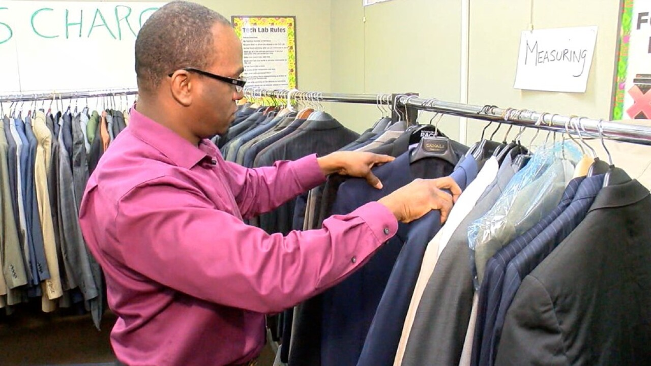 suits at CDC for Suit Up & Show Up event