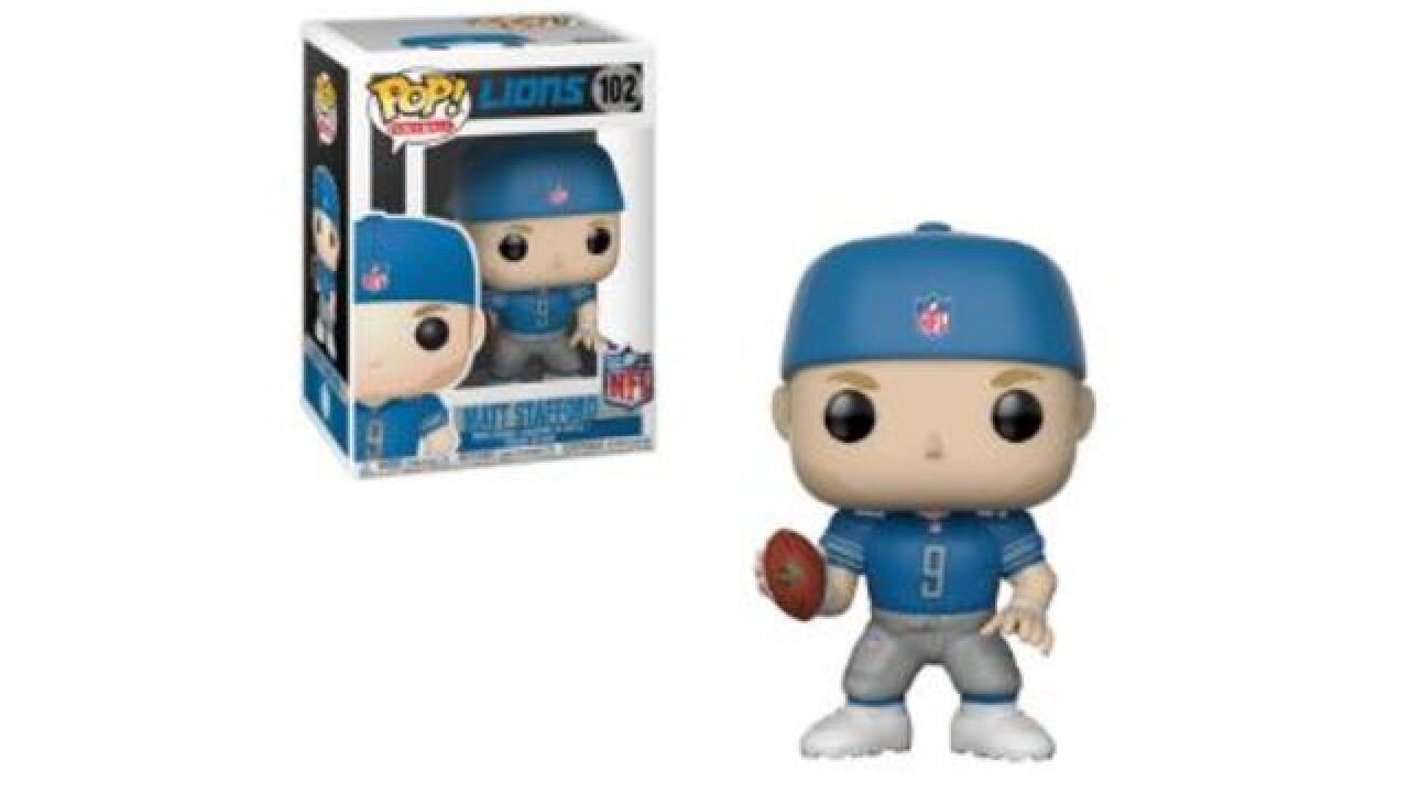 Lions QB Matthew Stafford getting his own Funko Pop figure