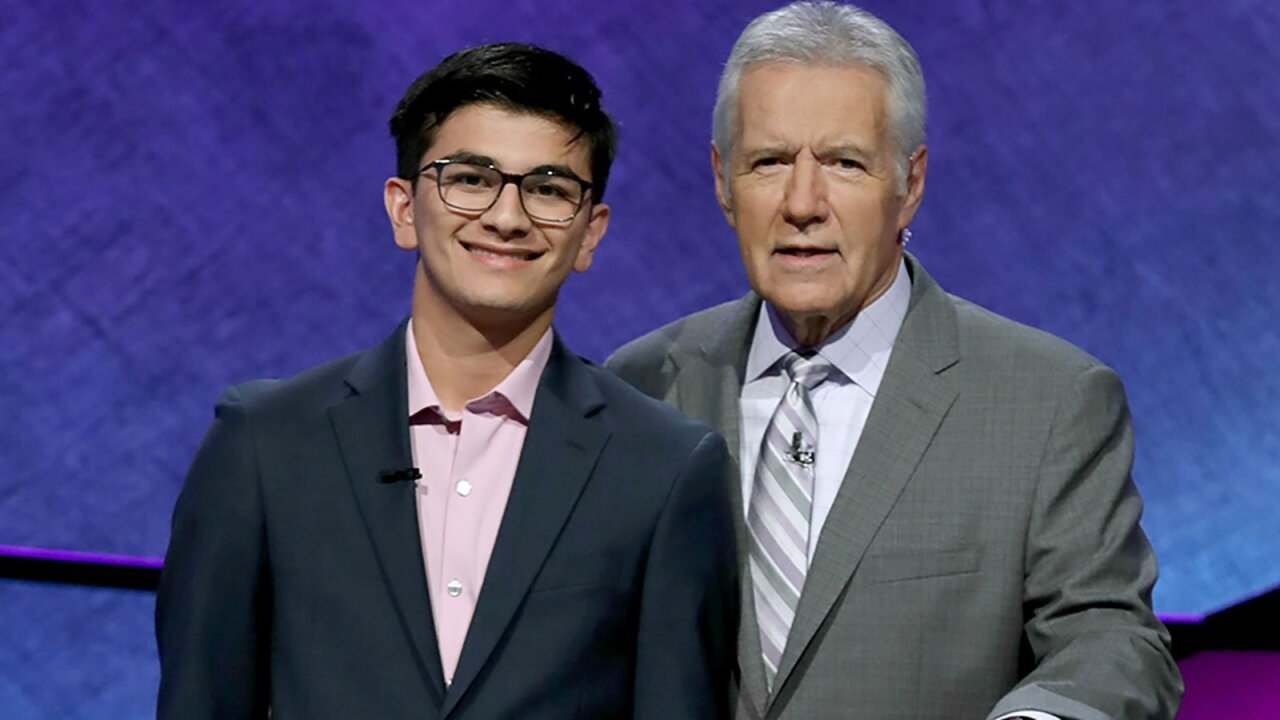 Teen 'Jeopardy!' champ donates $10,000 to cancer research in Alex Trebek's honor