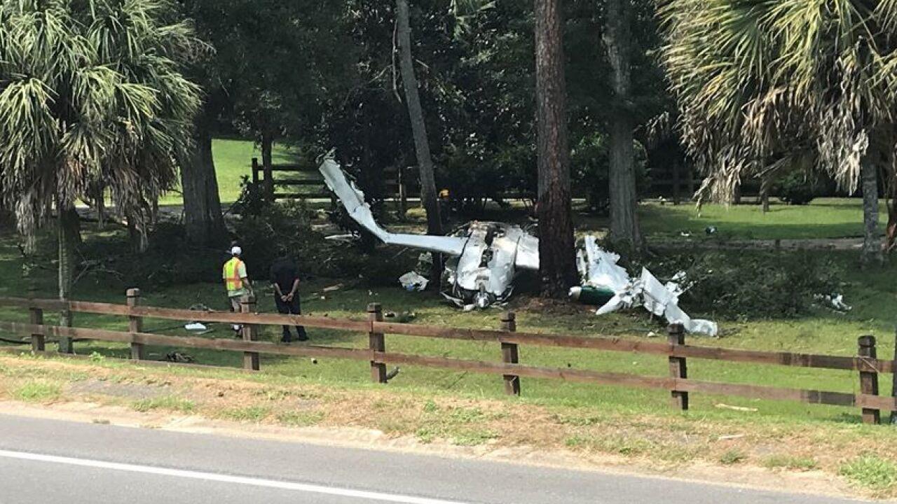 Authorities respond to small plane crash near Quincy Municipal Airport.JPG