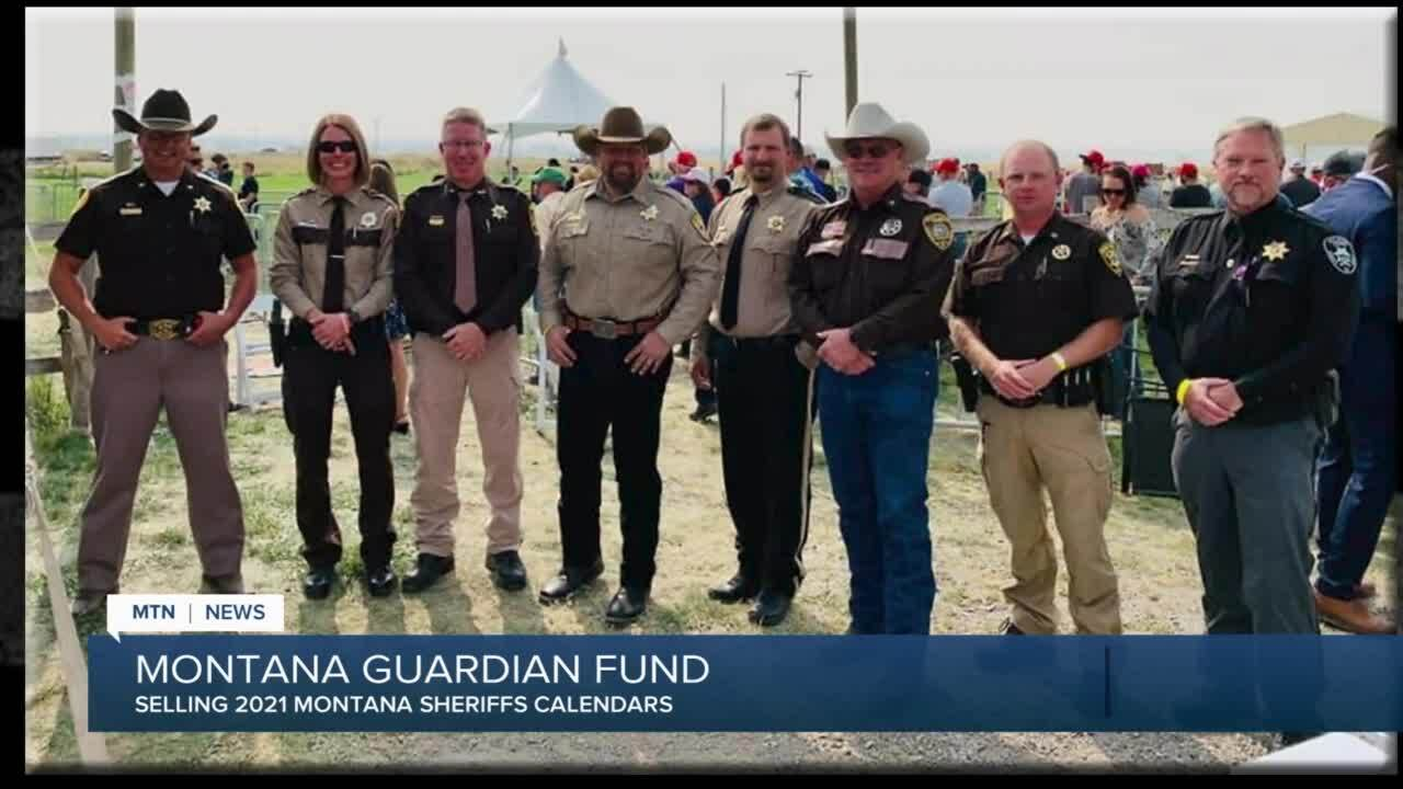 Montana Guardian Fund is selling calendars to help officers and their families