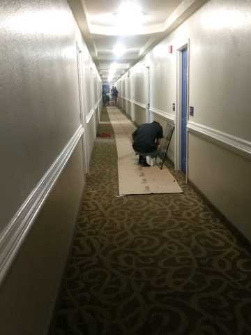 Photos: Suicide Attempt Causes Water Damage To Motel