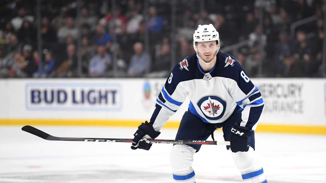 Jacob_Trouba_Winnipeg Jets v Los Angeles Kings