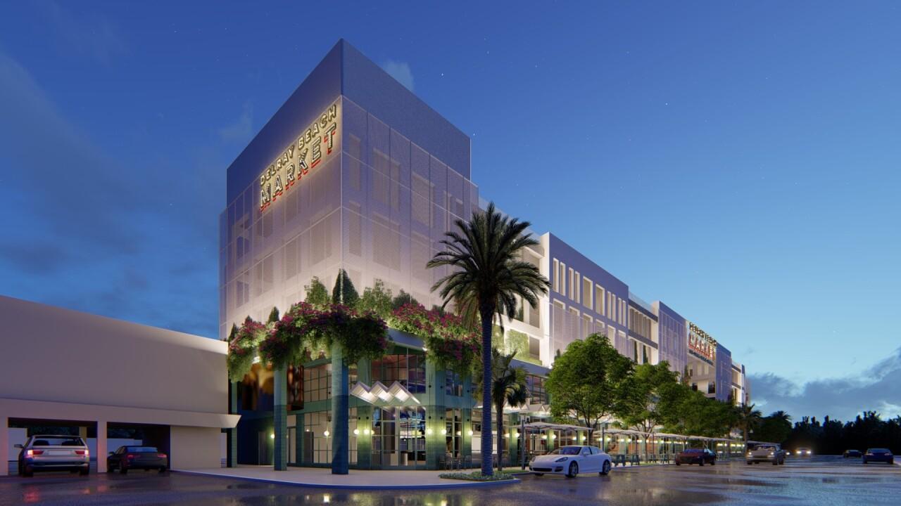 Delray Beach Market rendering