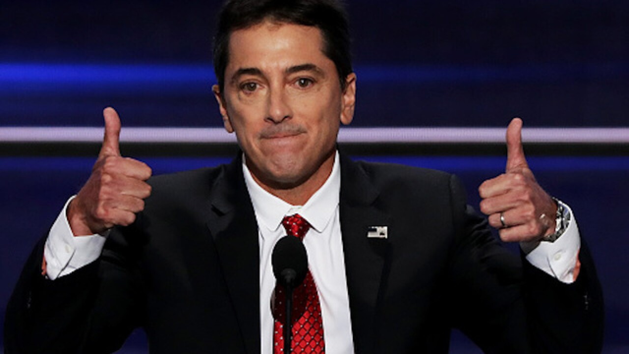 Scott Baio files police report accusing rocker's wife of battery over Trump support