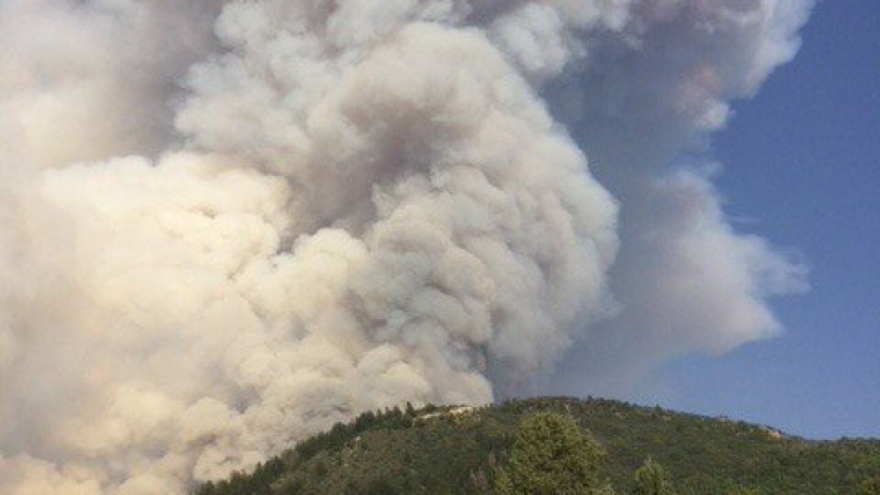 Coal Hollow Fire nearly 18K acres; zero containment