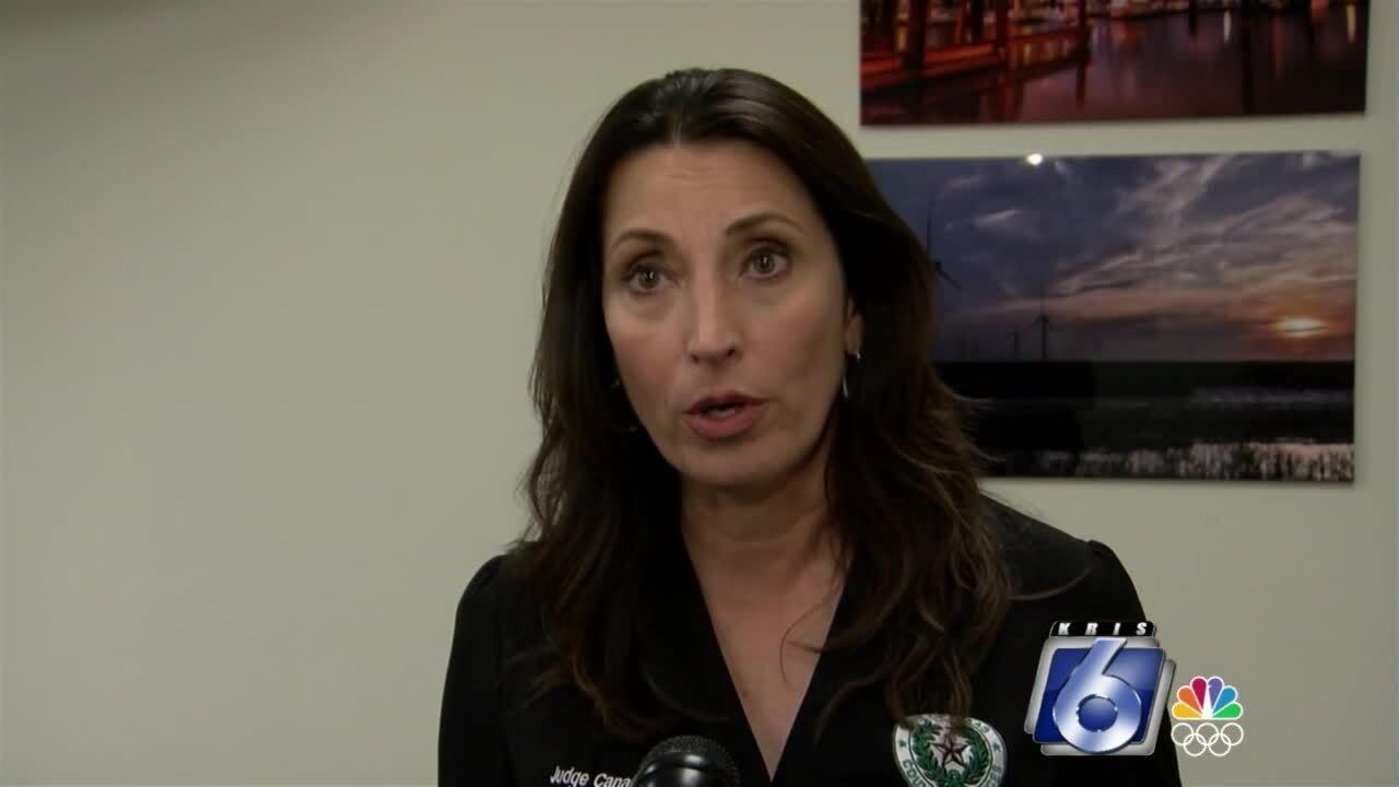 County Judge Barbara Canales