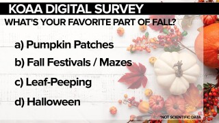 KOAA Survey: What's your favorite part of fall?