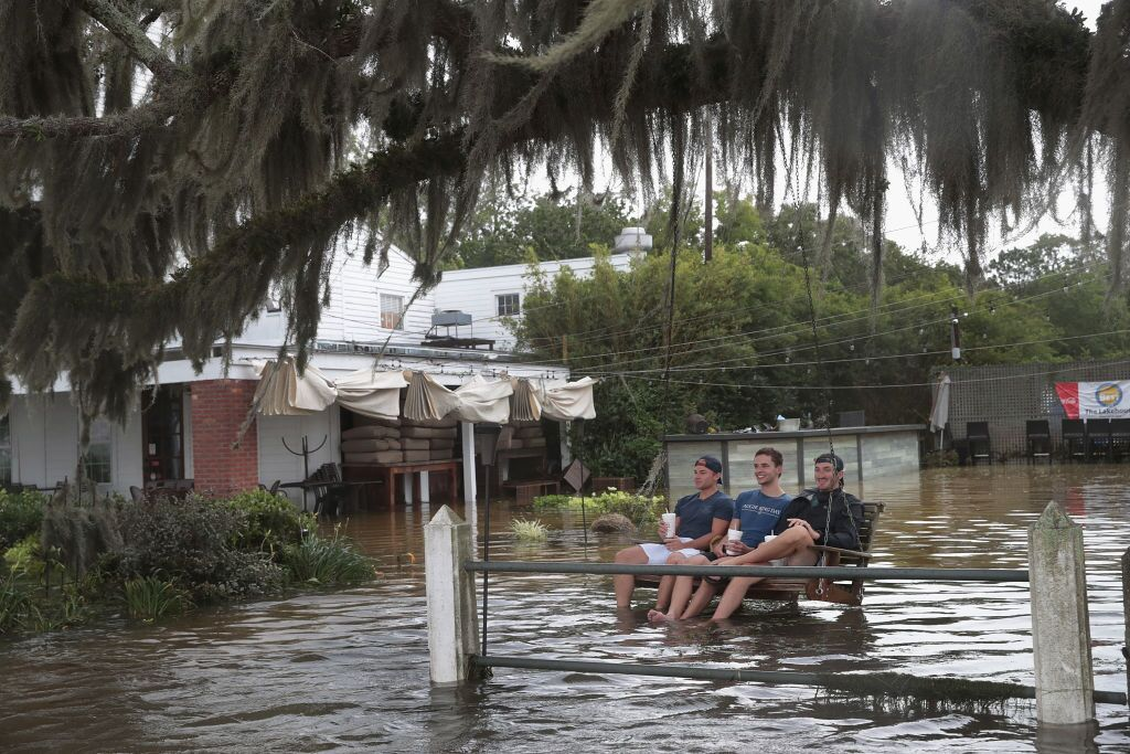 Tropical Storm Barry Drenches Southern Louisiana