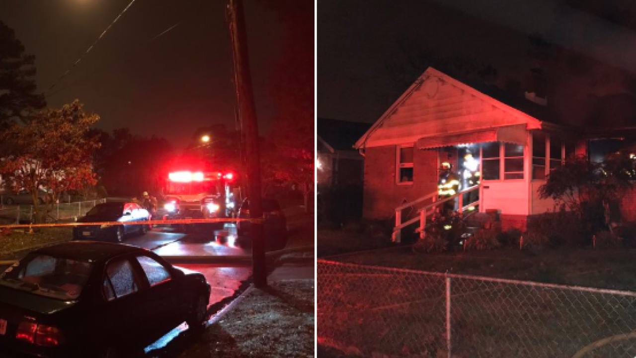 One person & dog killed in Norfolk house fire