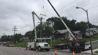 Nearly 7,500 BPU customers lost power after fire