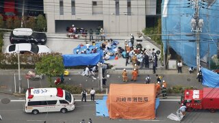 Two killed including girl, 12, in Japan stabbing spree