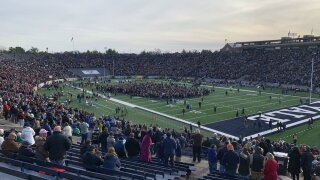 42 people charged for interrupting Harvard/Yale football game for climate protest