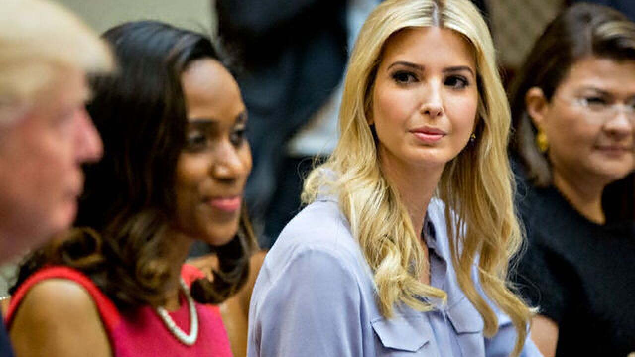 Ivanka Trump is making her White House job official