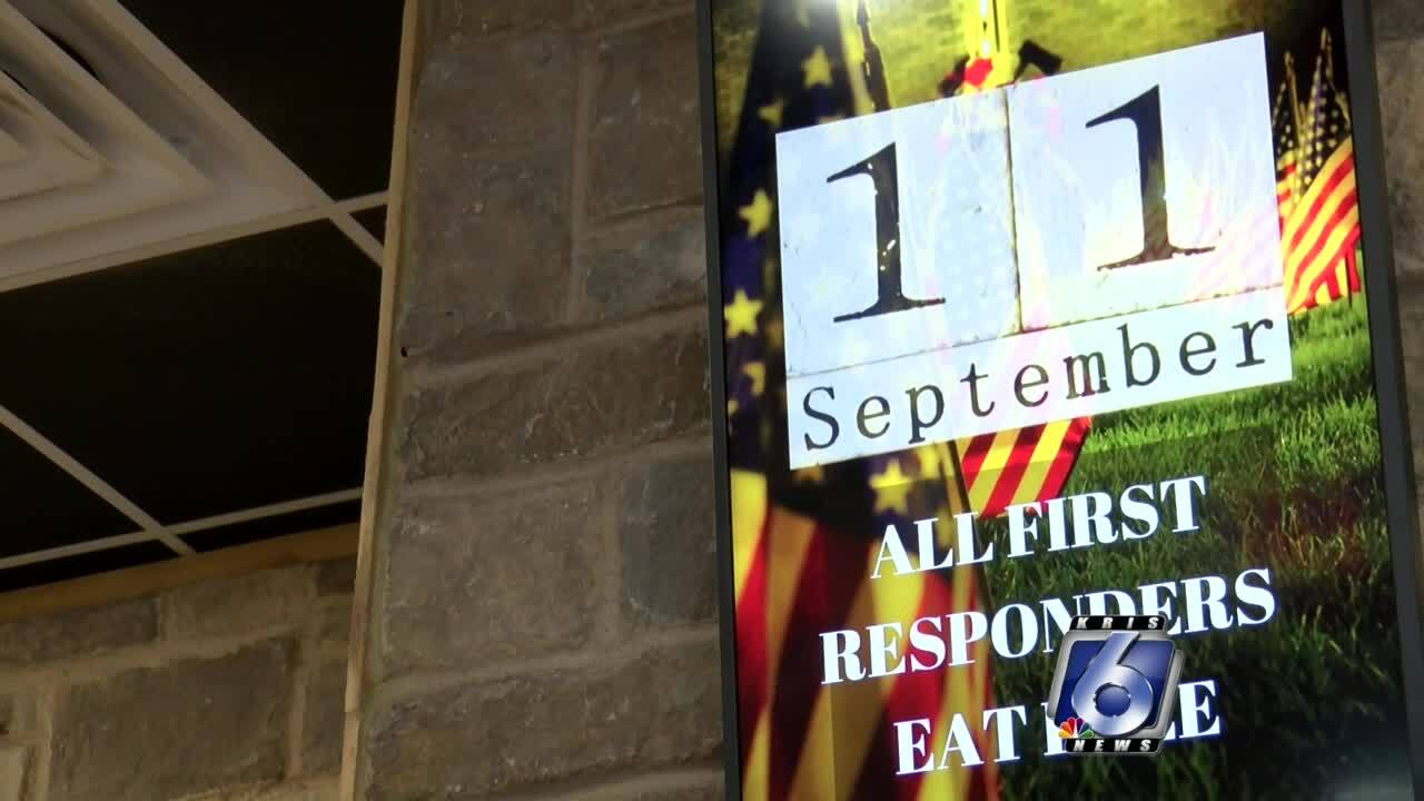 First responders treated to free meal