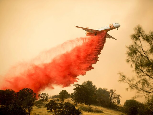 PHOTOS: Detwiler Fire forces evacuations in Mariposa County
