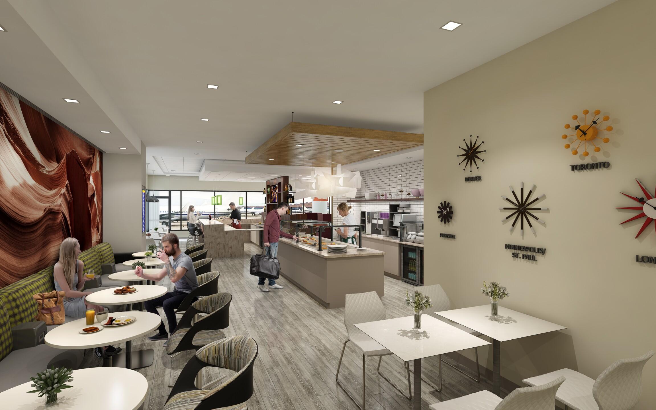 Escape Lounge Phoenix Sky Harbor Airport