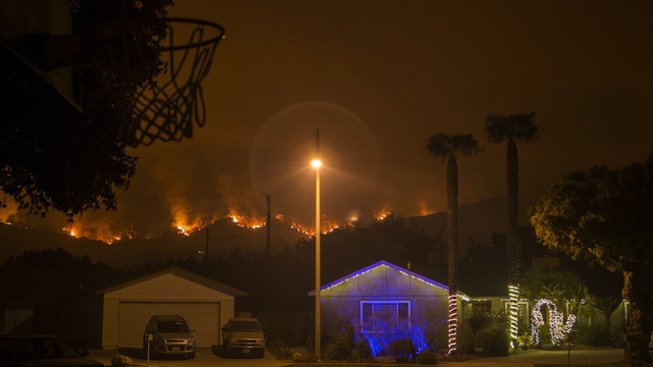 Evacuations ordered in fire-ravaged Southern California ahead of rain