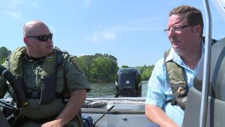 On the boat with conservation police: 'The state troopers of the woods and water'
