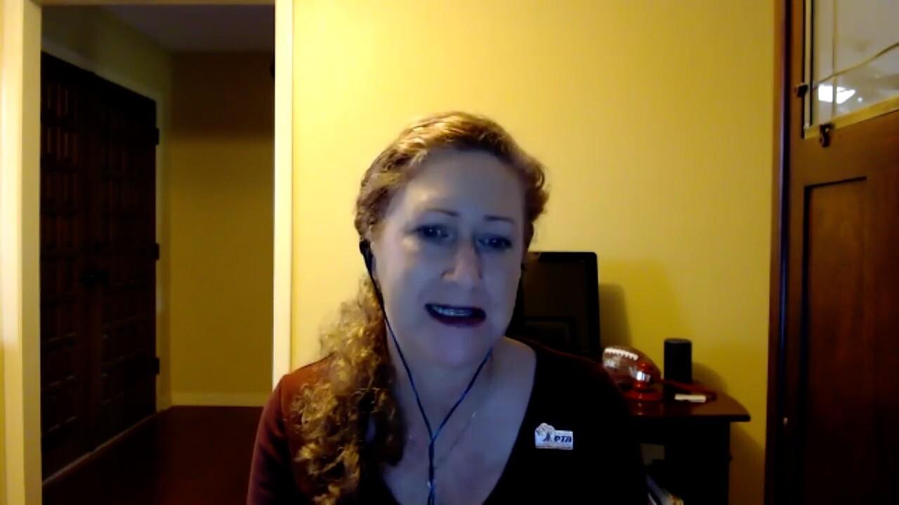 Linda Kearschner of Florida's PTA Association