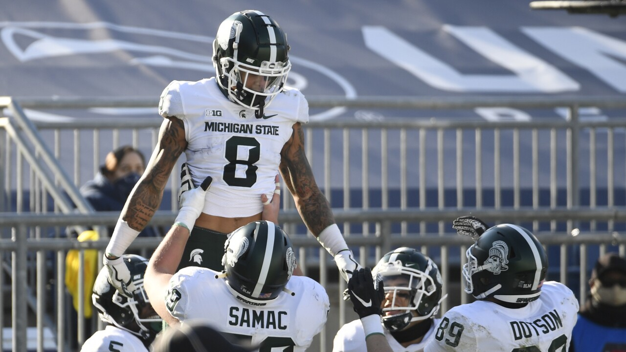 Michigan State Spartans Gruff Sparty