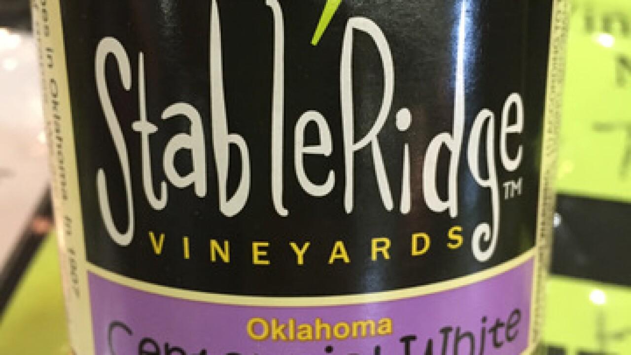Wine Garden at the 2015 Tulsa State Fair