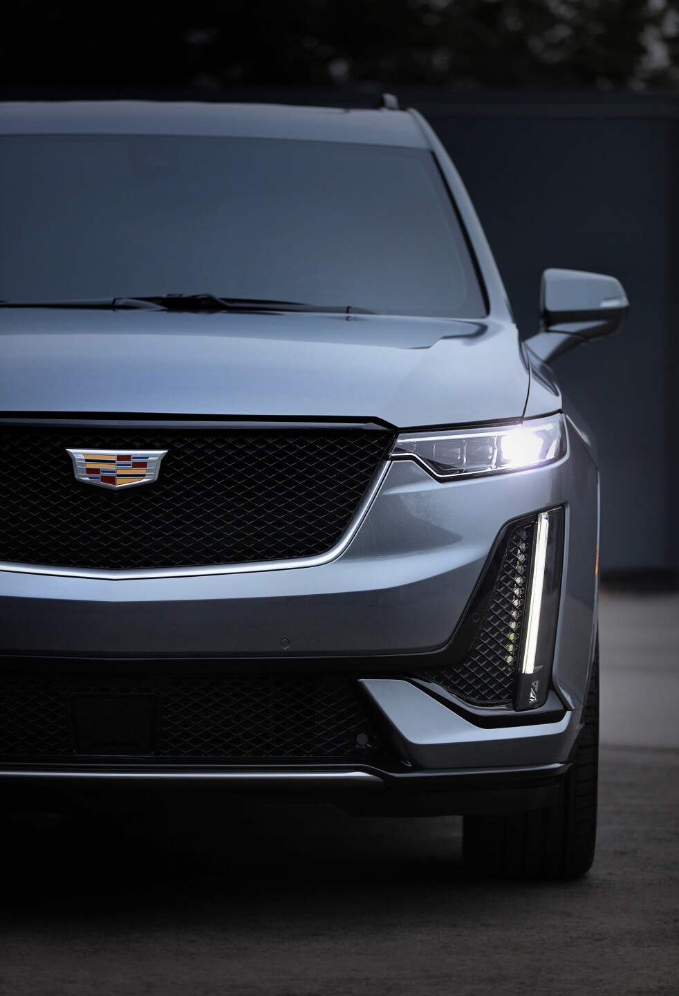 The Cadillac XT6 Sport is defined by darker accents and more agg