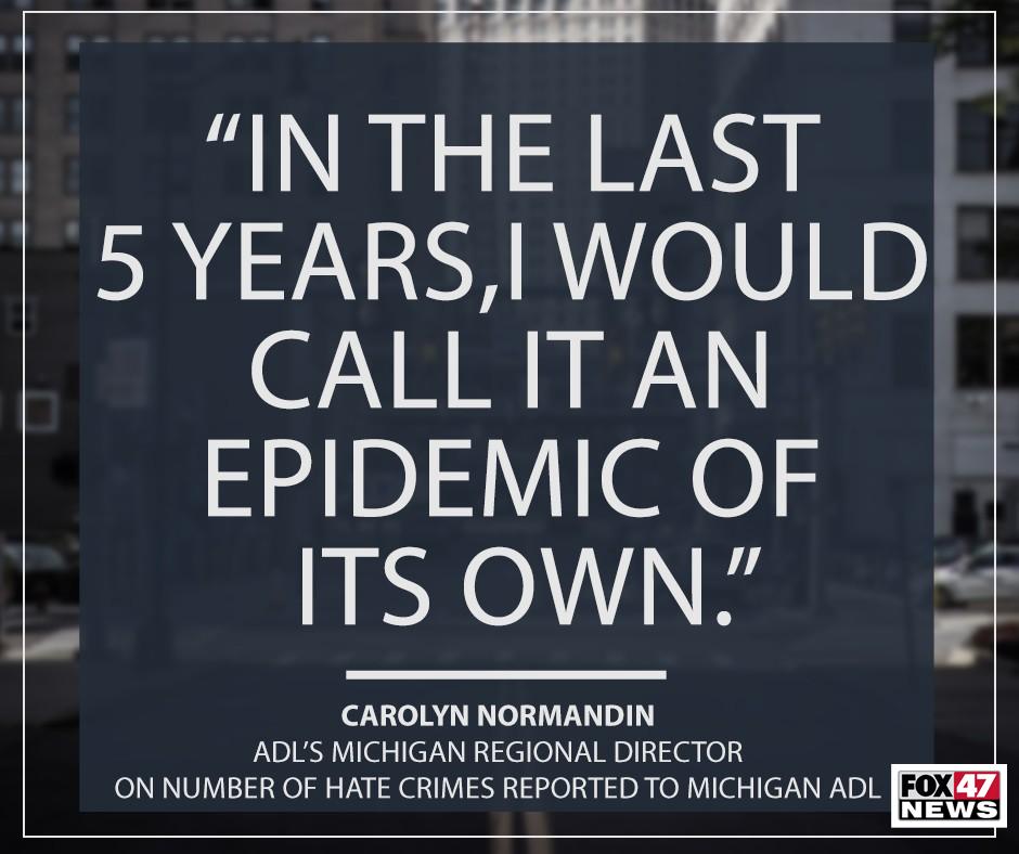 Carolyn Normandin with Michigan's Anti-Defamation League