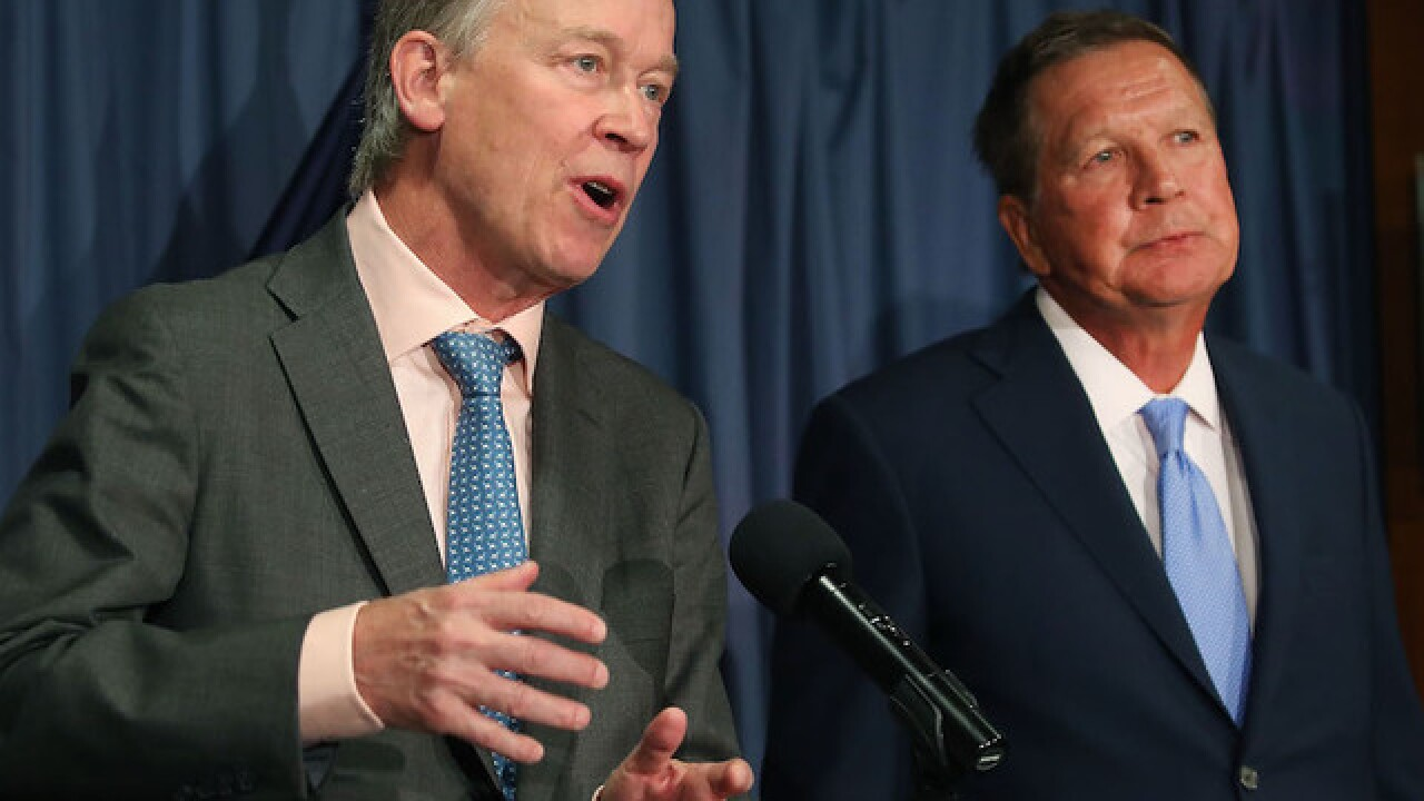 Source: Kasich, Hickenlooper consider unity presidential ticket in 2020