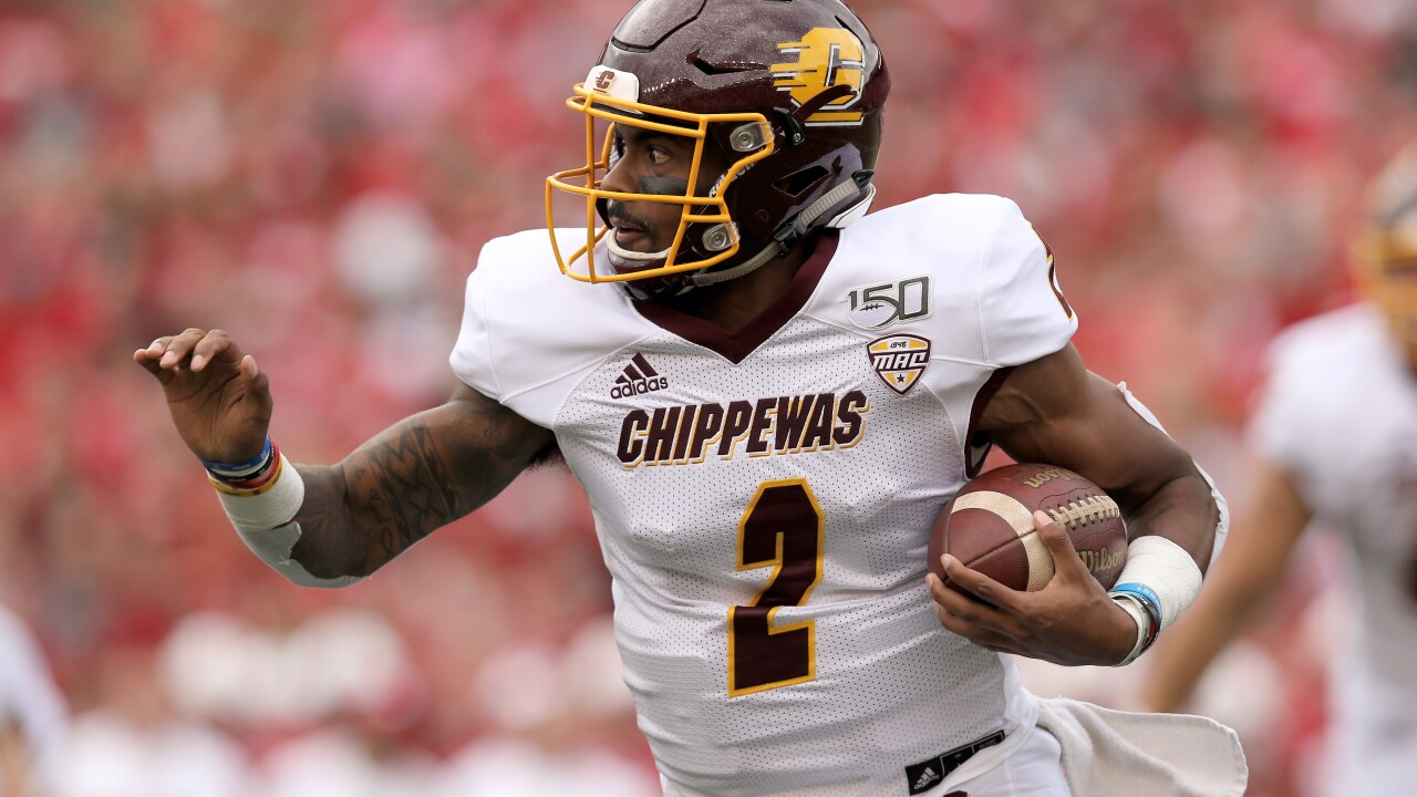 David Moore, Jonathan Ward help Central Michigan roll over Eastern Michigan