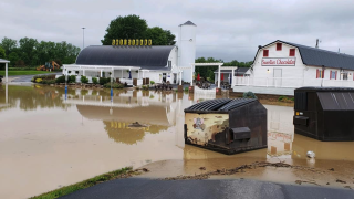 Photos: Ohio's crazy 24 hours of rain, flooding, an earthquake and a tornado