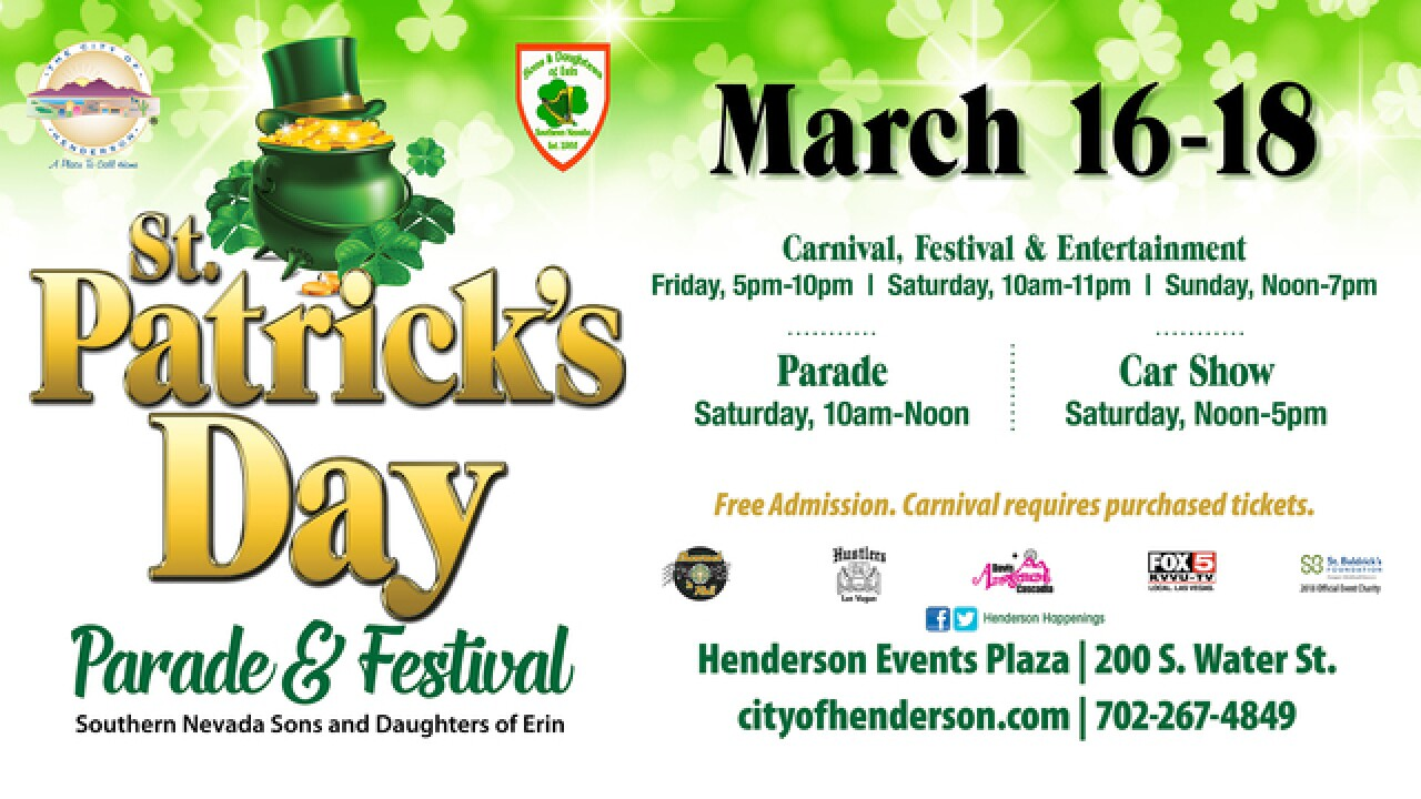 St. Patrick's Day celebrations in Las Vegas