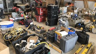 construction tools stolen seized sarpy county
