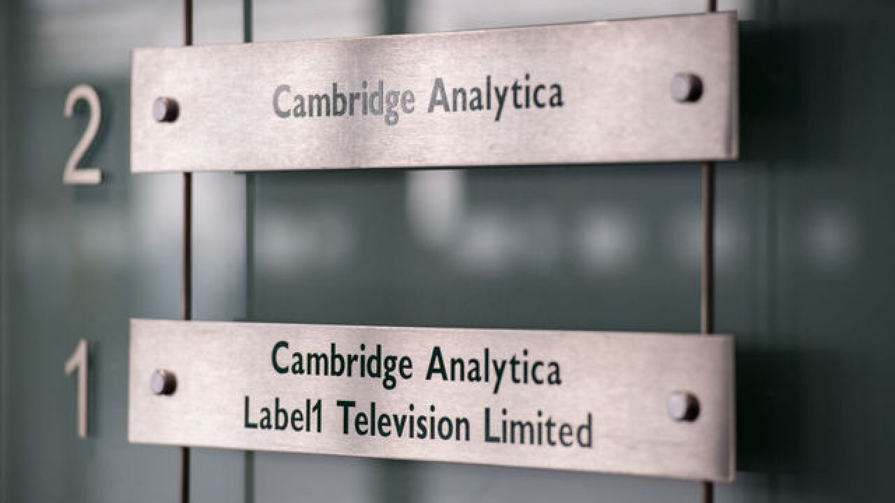 Facebook says Cambridge Analytica may have had data on 87 million people