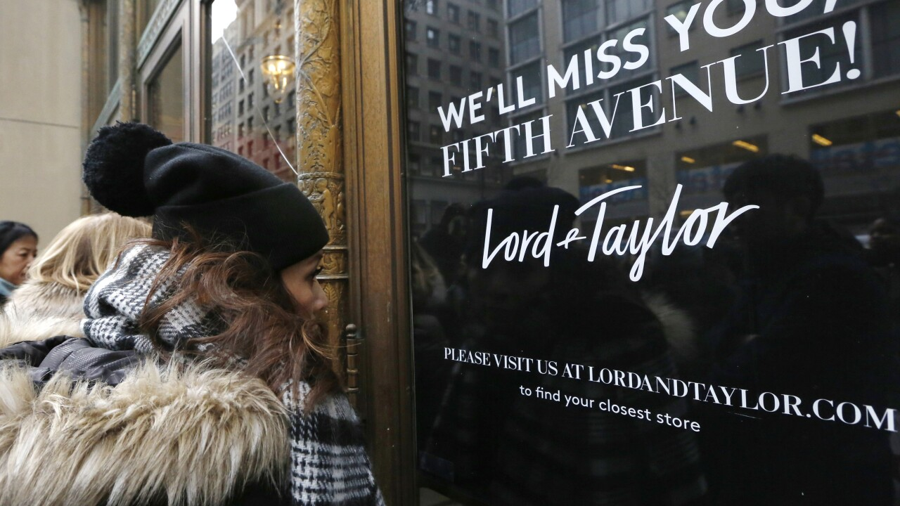 Lord & Taylor is officially going out of business